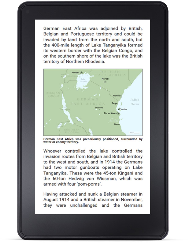 History Matters books on the Kindle Fire